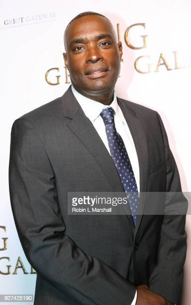Antwone Fisher attends The GRIOT Gala Oscar Night After Party at Crustacean on March 4 2018 in Beverly Hills California