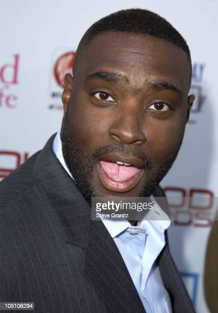 Antwone Fisher during AMC Movieline's Hollywood Life Magazine's Young Hollywood Awards 2003 at El Rey Theatre in Los Angeles California United States