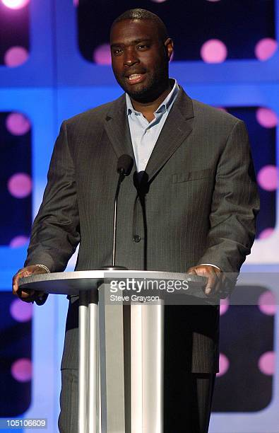 Antwone Fisher during AMC Movieline's Hollywood Life Magazine's Young Hollywood Awards Show at El Rey Theatre in Los Angeles California United States