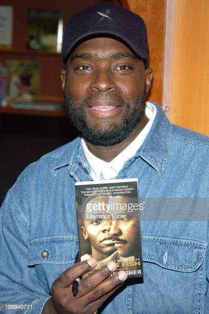 Antwone Fisher during Antwone Fisher Signs His Book Finding Fish at Hue Man Books in New York New York United States