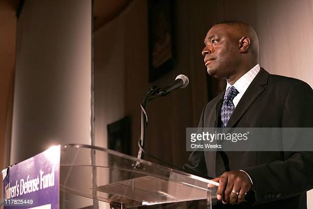 Antwone Fisher during Children's Defense Fund 14th Annual Beat the Odds Fundraiser Inside at Beverly Hills Hotel in Beverly Hills California United...