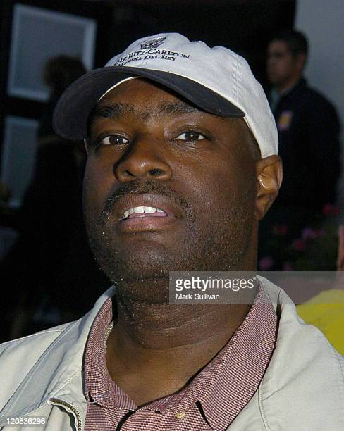 Antwone Fisher during Ephraim's Song to Benefit The National Foster Care Fund at Norman J Pattiz Concert Hall in Los Angeles California United States