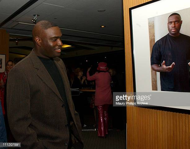 Antwone Fisher during Reception Celebrating The Opening of 'Imaging and Imagining' The Film World of Pat York at Academy of Motion Picture Arts and...
