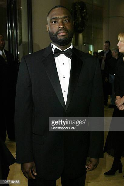 Antwone Fisher during The 17th Annual American Cinematheque Award Honoring Denzel Washington - Arivals and Press Room at Beverly Hilton Hotel in...