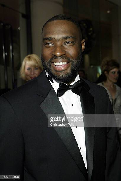 Antwone Fisher during The 17th Annual American Cinematheque Award Honoring Denzel Washington Arivals and Press Room at Beverly Hilton Hotel in...