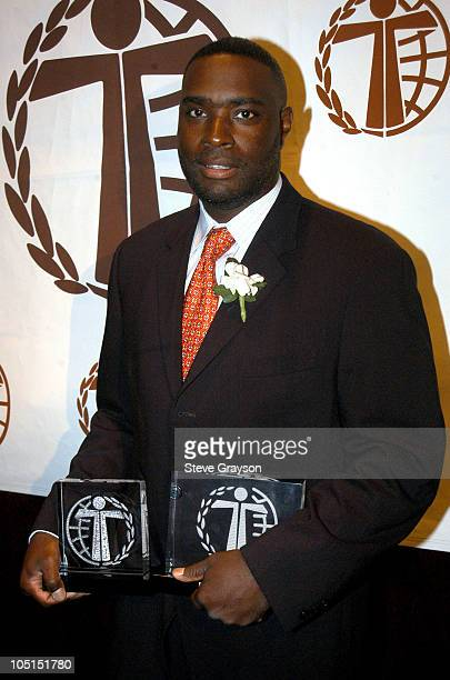 Antwone Fisher during The 29th Annual Humanitas Awards at The Universal Hilton in Universal City California United States