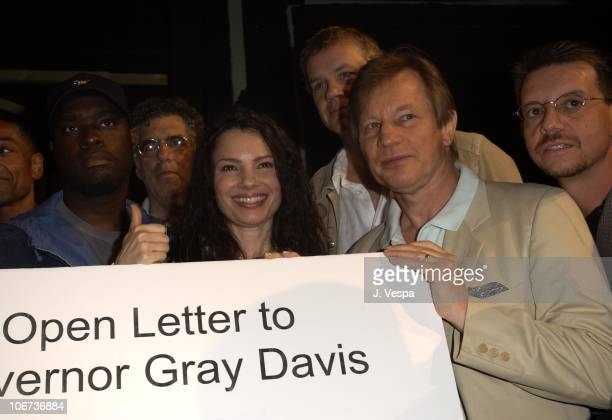 Antwone Fisher Fran Drescher Tim Robbins Michael York and Jon McHugh