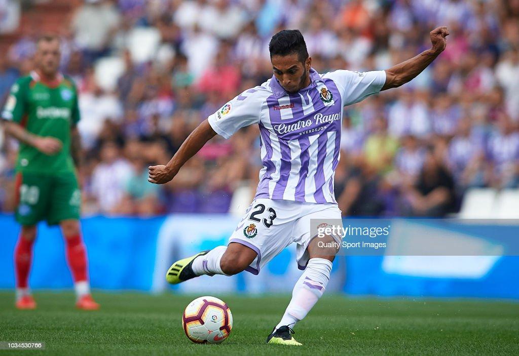 Real Valladolid CF v Deportivo Alaves - La Liga : Nachrichtenfoto