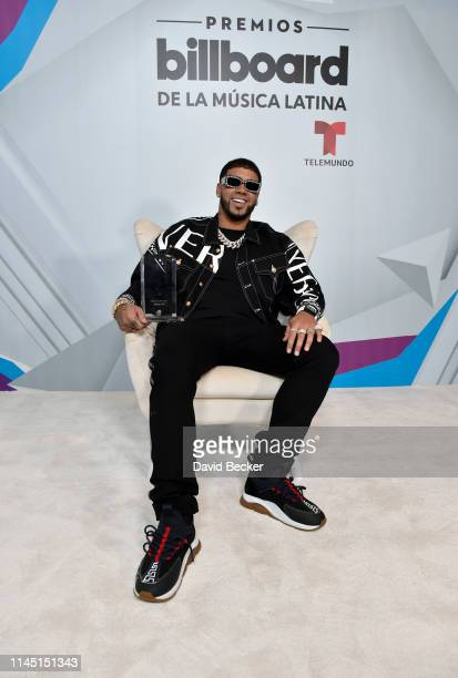 Anuel AA attends the 2019 Billboard Latin Music Awards at the Mandalay Bay Events Center on April 25, 2019 in Las Vegas, Nevada.