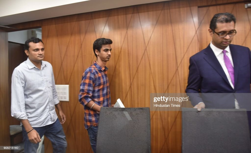 Press Conference Of CBI Judge Loya's Son Anuj Loya In Mumbai