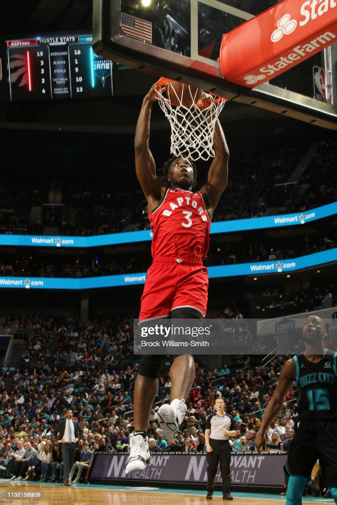Og Anunoby Of The Toronto Raptors Dunks The Ball During The Game News Photo Getty Images