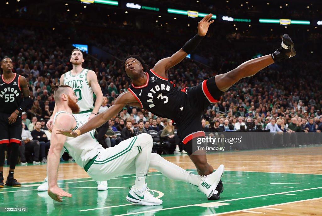Toronto Raptors v Boston Celtics : Nachrichtenfoto