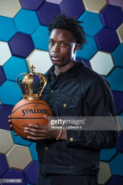 Anunoby of the Toronto Raptors poses for portraits during the NBAE Circuit as part of 2019 NBA AllStar Weekend on February 14 2019 at the Sheraton...