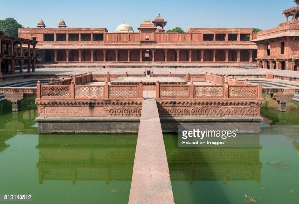 Anup Talao Pool Fatehpur Sikri India