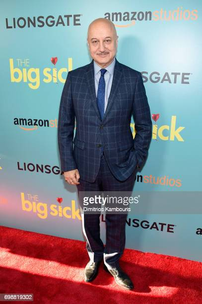 Anupam Kher attends 'The Big Sick' New York Premiere at The Landmark Sunshine Theater on June 20 2017 in New York City