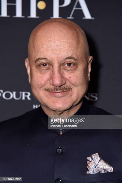 Anupam Kher attends The Hollywood Foreign Press Association and InStyle Party during 2018 Toronto International Film Festival at Four Seasons Hotel...