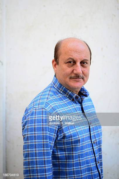 Anupam Kher from Silver Linings Playbook poses for a portrait during the 2012 Doha Tribeca Film Festival at AL Najada Hotel on November 19 2012 in...