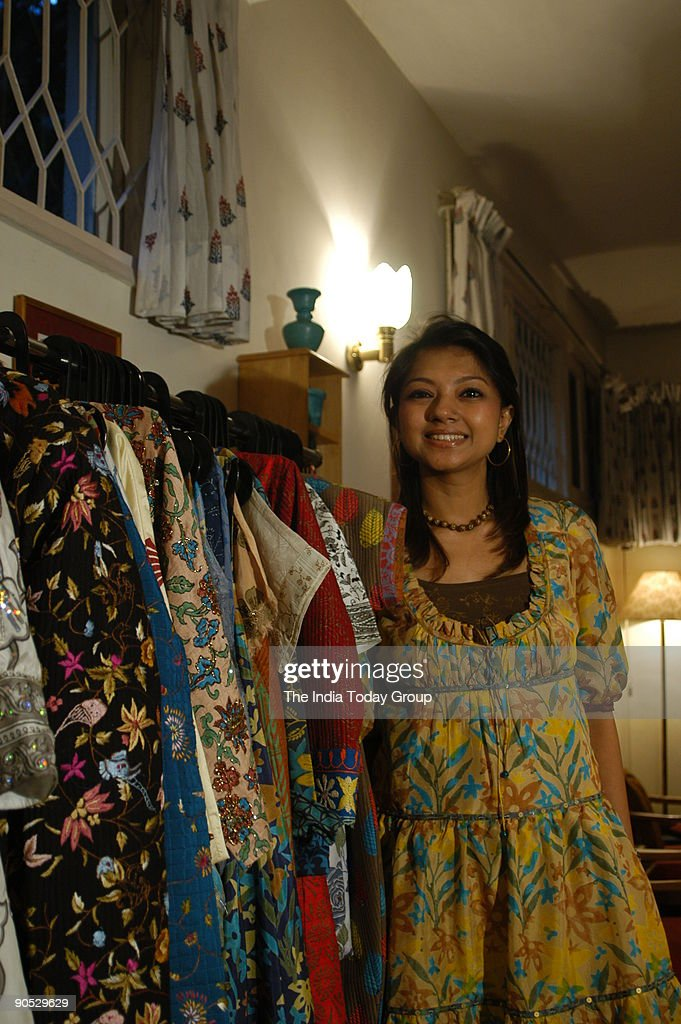 Anupama Dayal A Delhi Based Fashion Designer During Her Fashion News Photo Getty Images
