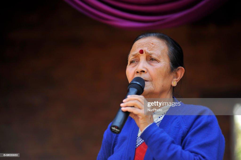 Maiti Nepal felicitated nine female conductors of Mahanagar Yatayat during 107th International Women's Day : News Photo
