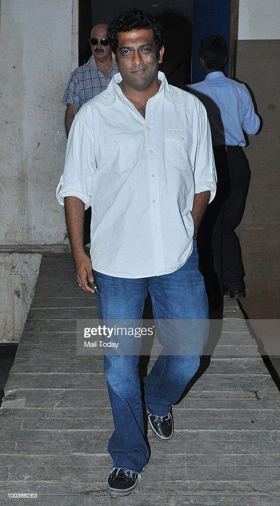 Anurag Basu at a promotional event for the film Kites in Mumbai on May 22, 2010.
