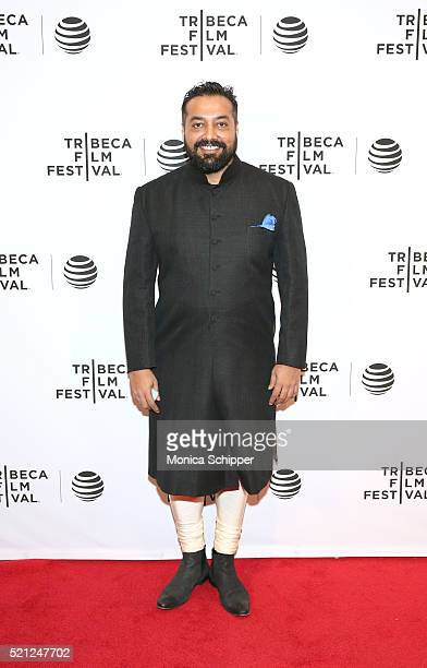 Anurag Kashyap at Madly Premiere 2016 Tribeca Film Festival at Chelsea Bow Tie Cinemas on April 14 2016 in New York City