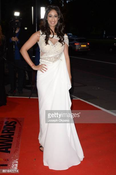 Anushka Arora attends the 17th Asian Achievers Awards at Grosvenor House on September 22 2017 in London England