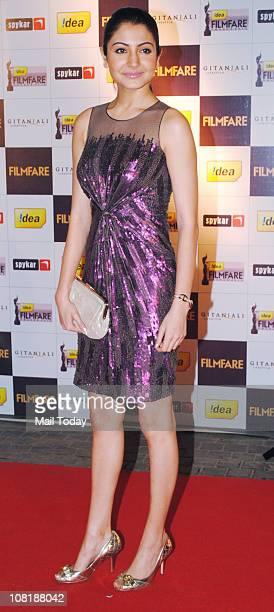 Anushka Sharma at '56th Idea Filmfare' awards nominations bash at JW Marriott Mumbai on January 19 2011