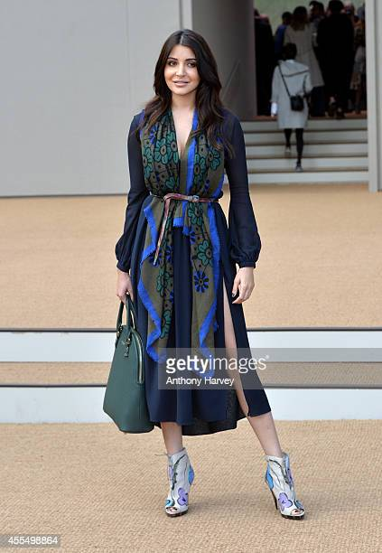 Anushka Sharma attends the Burberry Prorsum show during London Fashion Week Spring Summer 2015 on September 15 2014 in London England