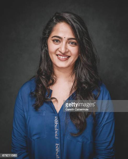 Anushka Shetty is photographed at a portrait session ahead of the film release of 'Baahubali 2 The Conclusion' at BFI Southbank on May 2 2017 in...
