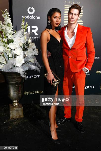 Anuthida Ploypetch and Richy Koll during the PLACE TO B Awards on November 24 2018 in Berlin Germany