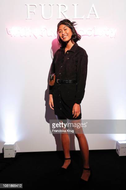 Anuthida Ploypetch attends the Furla Dinner and Party at Borchardt Restaurant on October 10 2018 in Berlin Germany