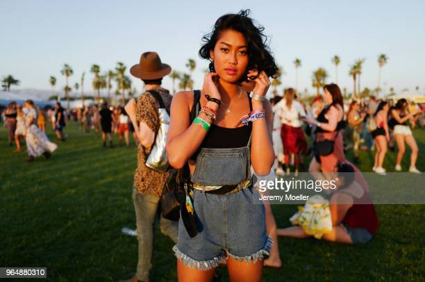 Anuthida Ploypetch during day 1 of the 2018 Coachella Valley Music Arts Festival Weekend 1 on April 13 2018 in Indio California