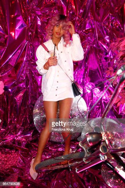 Anuthida Ploypetch during the Bulgari Omnia Pink Sapphire party on May 4 2018 in Berlin Germany