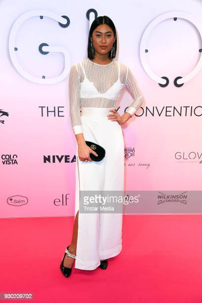 Anuthida Ploypetch during the 'GLOW The Beauty Convention' at Westfalenhalle on March 10 2018 in Dortmund Germany