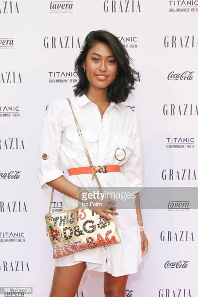 Anuthida Ploypetch during the Grazia Pink Hour at Titanic Hotel on July 4 2018 in Berlin Germany