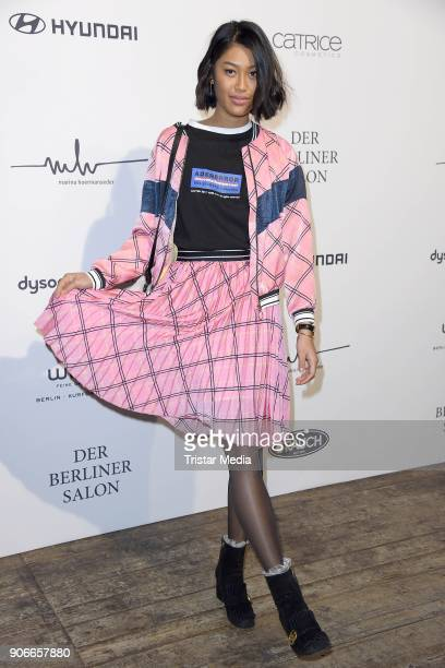 Anuthida Ploypetch during the Marina Hoermanseder Defile during 'Der Berliner Salon' AW 18/19 at Von Greifswald on January 18 2018 in Berlin Germany