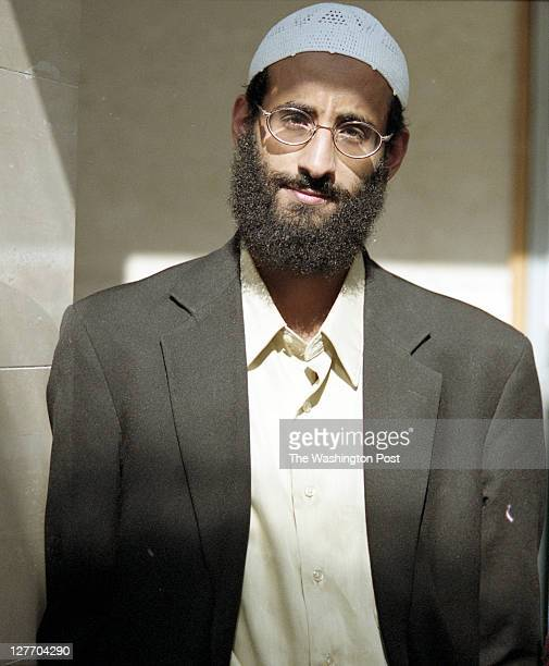 Anwar AlAwlaki at Dar al Hijrah Mosque on October 4 2001 in Falls Church VA