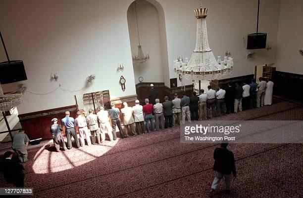 Anwar AlAwlaki at Dar al Hijrah Mosque on September 12 2001 in Falls Church VA