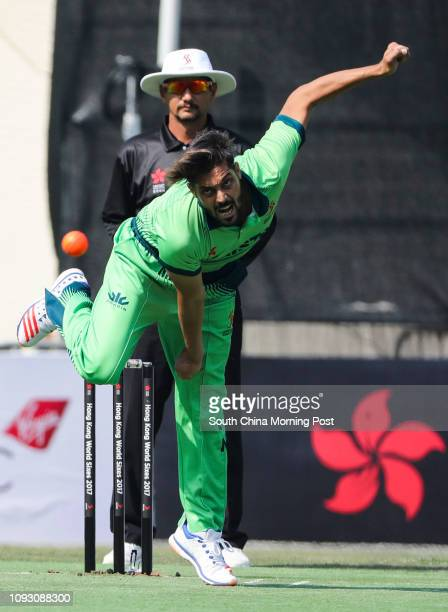 Anwar Ali of Pakistan vs South Africa during the Hong Kong World Sixes 2017 held at the Kowloon Cricket Club 28OCT17 SCMP / Edward Wong