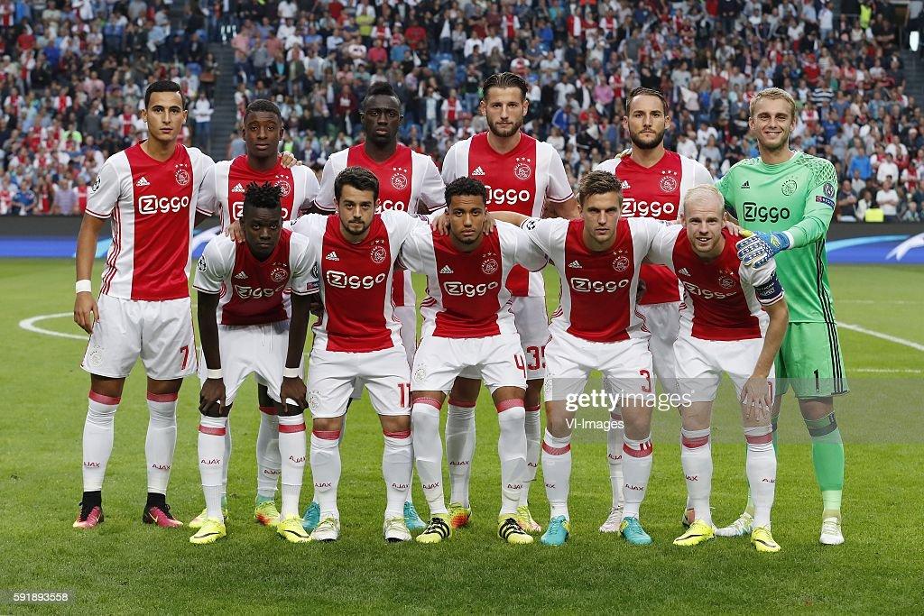"Champions League - ""Ajax v FK Rostov"" : News Photo"