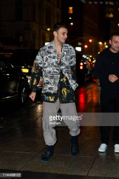Anwar Hadid attends Gigi Hadid's 24th Birthday at L'Avenue in Midtown on April 22 2019 in New York City