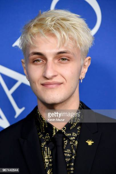 Anwar Hadid attends the 2018 CFDA Fashion Awards at Brooklyn Museum on June 4 2018 in New York City