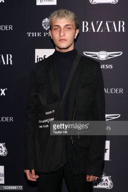 Anwar Hadid attends the 2018 Harper's Bazaar ICONS Party at The Plaza Hotel on September 7 2018 in New York City