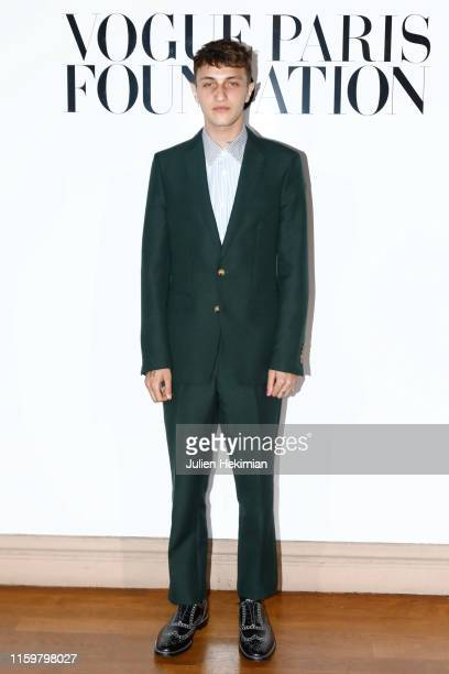 Anwar Hadid attends the Vogue diner as part of Paris Fashion Week Haute Couture Fall Winter 2020 at Le Trianon on July 02 2019 in Paris France