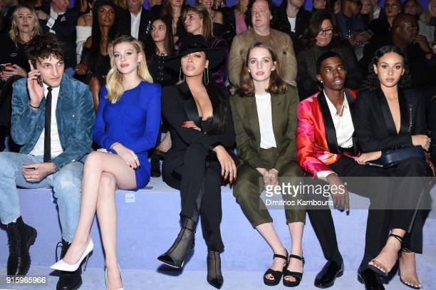 Anwar Hadid Nicola Peltz La La Anthony Maya ThurmanHawke and Christian Combs attend the Tom Ford Fall/Winter 2018 Women's Runway Show at the Park...