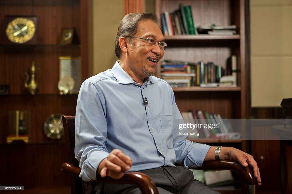 Malaysia's Opposition People's Alliance Coalition Leader Anwar Ibrahim Interview