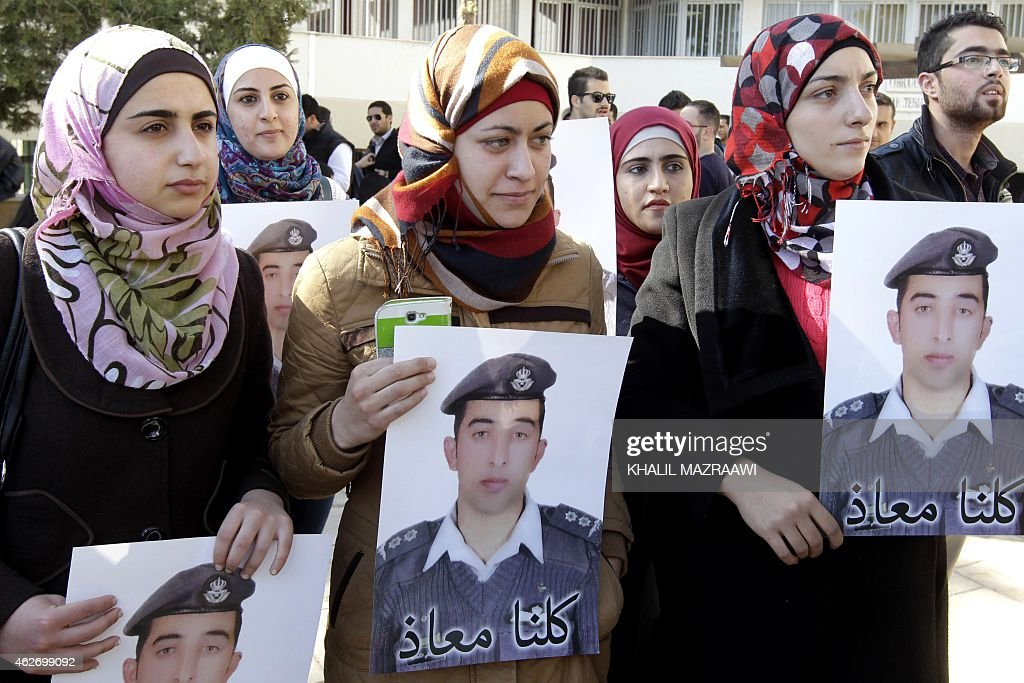 JORDAN-SYRIA-JAPAN-CONFLICT-HOSTAGES-JIHADISTS : News Photo