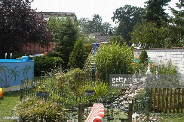 Anwesen von Jo Bolling Homestory Kleinstadt nahe Frankfurt am Main Schauspieler Garten Promis Prominente Prominenter