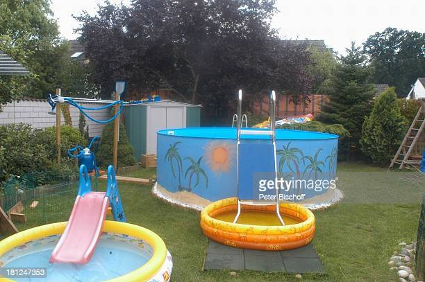 Anwesen von Jo Bolling Homestory Kleinstadt nahe Frankfurt am Main Schauspieler Pool SwimmingPool Promis Prominente Prominenter
