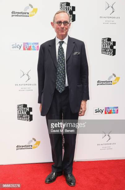 Wilson attends The South Bank Sky Arts Awards 2018 at The Savoy Hotel on July 1 2018 in London England